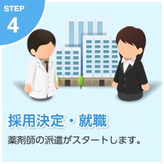 【採用決定・就職】薬剤師の派遣がスタートします。